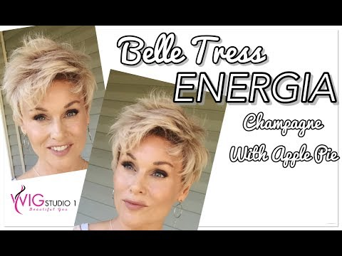 Belle Tress ENERGIA Wig Review | Champagne With Apple Pie | TAZS WIG CLOSET