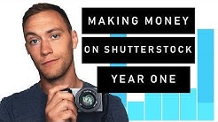 How Much Money Can You Make on SHUTTERSTOCK in Your First Year? Earnings, Best Sellers, and Thoughts