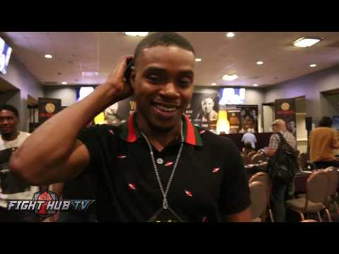 "Errol Spence reacts to Andre Ward vs Anthony Joshua fight ""I think Ward can beat him"""