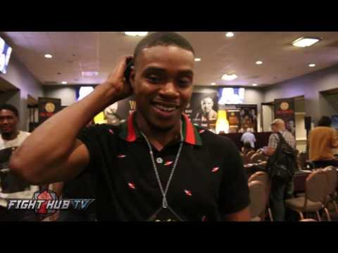 "Errol Spence reacts to Andre Ward vs Anthony Joshua fight ""I think Ward can beat him"""