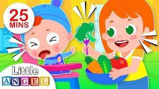 Yum Yum Vegetables | This is The Way | Kids Songs & Nursery Rhymes by Little Angel