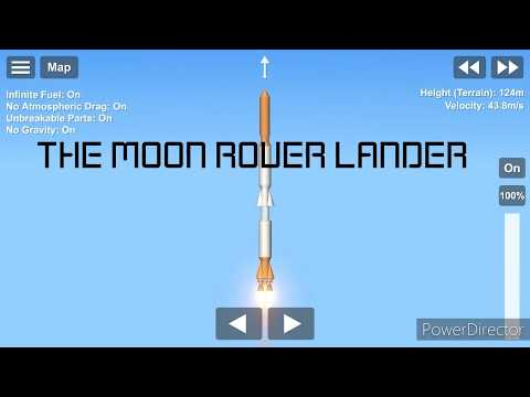 HOW TO CRASH LAND A LANDER | SPACE FLIGHT SIMULATOR |