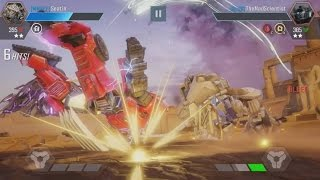 EPIC Transformers: Forged To Fight Gameplay Compilation - Free To Play Android/IOS Game 2017