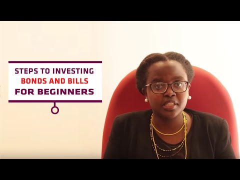 Steps to investing: Bonds and Bills- for beginners (Kenya)