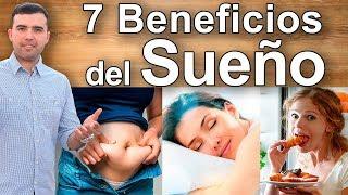 7 beneficios de dormir bien y como descansar perder peso estres diabetes y envejecimiento