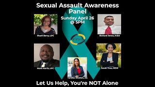 Black Wall Street AZ Inc Sexual Assault Awareness Panel