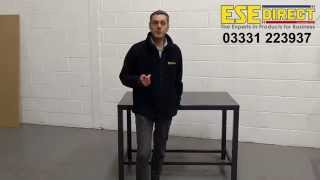 Fully Welded Engineers Bench - Product Demonstration