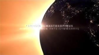 Pariisin sopimus: maailma yhdessä ilmastonmuutosta vastaan