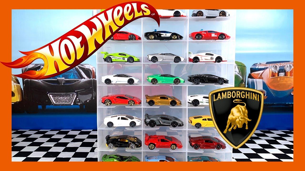 HOT WHEELS Lamborghini Collection Showcase
