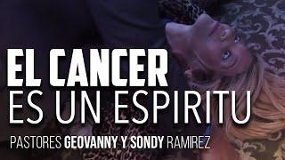 LA GENTE NO LO CREE PERO EL CANCER ES UN espiritu y Solo Jesus Puede Liberarte De El