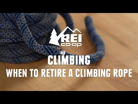 When To Retire A Climbing Rope || REI