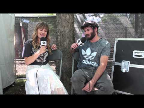 Angus and Julia Stone - Interview at Lollapalooza 2015