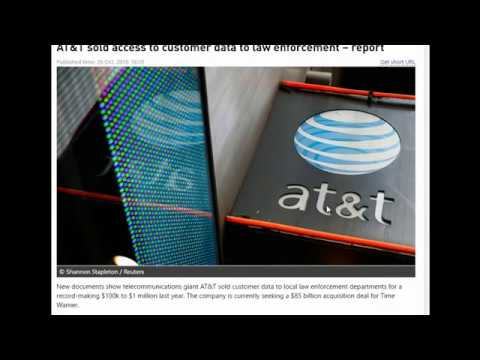 AT&T Violated youre rights and sold access to customer data to law enforcement – report