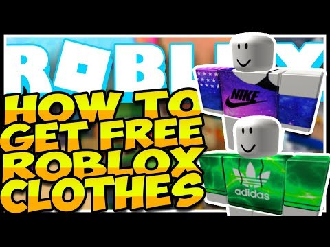 How To Get Free Shirts Pants Faces Etc Roblox Youtube