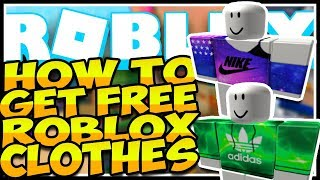 🔥HOW TO GET FREE SHIRTS, PANTS, FACES, ETC ROBLOX🔥