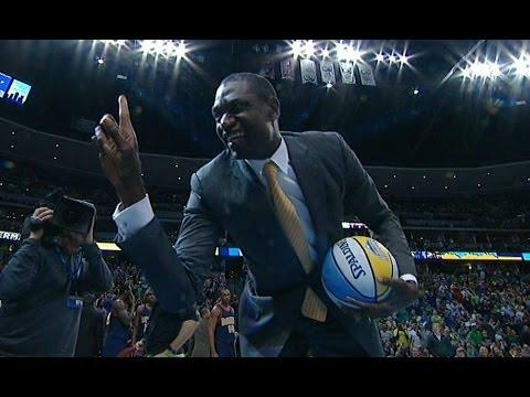 Dikembe Mutombo Denies the Nuggets Mascot!
