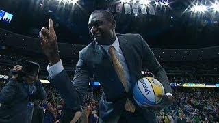 Dikembe Mutombo Denies the Nuggets Mascot!