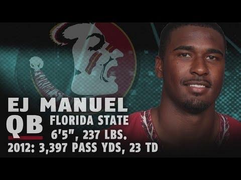 2013 NFL Draft Profile   EJ Manuel - Florida St. QB - 1st Round Pick   ACCDigitalNetwork