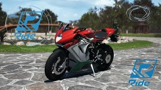 RIDE MV Agusta F3 800 Gp Donington
