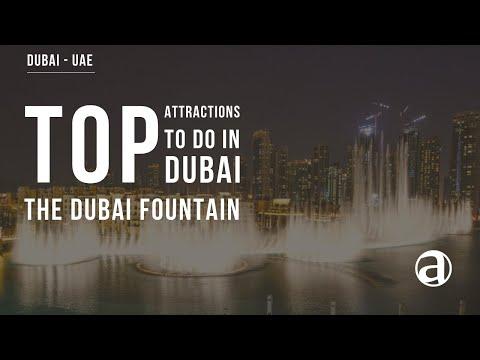 The Dubai Fountain | Dubai Top Attractions | Dubai Tours | UAE | Luxury travel Concierge antropoti