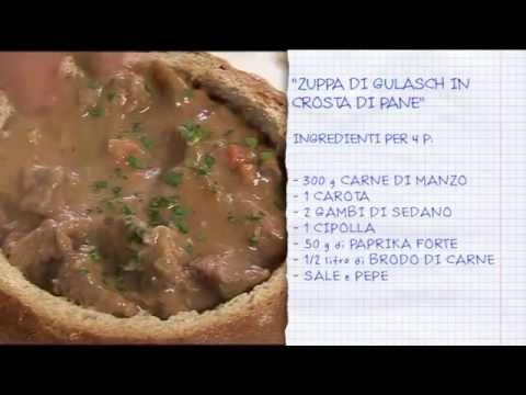 Zuppa Di Gulash In Crosta Di Pane @ Benvenuti A Tavola 01.01.2015