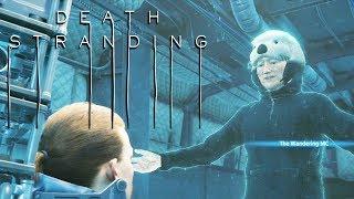 Conan O'Brien Cameo - Death Stranding Otter Hat (#DeathStrandingCutscenes)