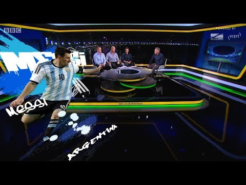 BBC Sport's FIFA World cup 2014 virtual graphics with Stype kit&Vizrt
