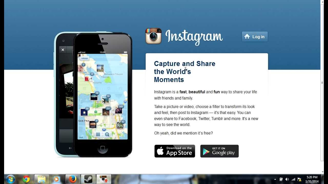 how to add a picture to instagram from computer
