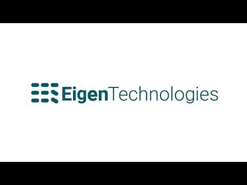 FinovateFall 2019 / Eigen Technologies