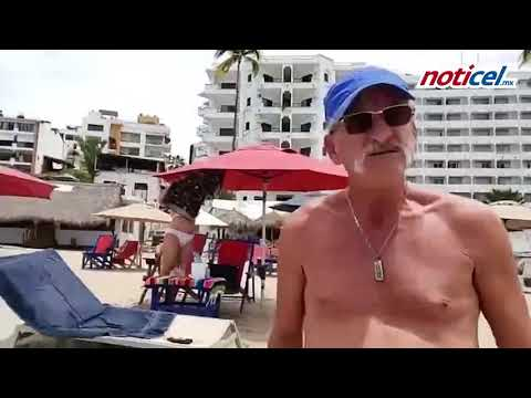 Grabó a turistas en la playa en medio de la pandemia y quisieron golpearla
