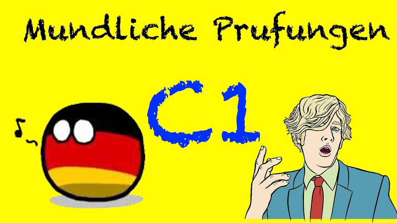 Mündliche Prüfungen C1 Goethe Zertifikat Aktueller Zertifikat