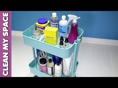 7 Fun Uses for the RASKOG Cart from Ikea (Clean My Space)