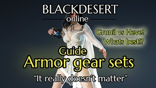 What is the best armor to use? - Black desert online