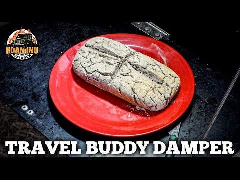 12V Travel Buddy Oven How To Cook Banana Coconut Damper In The Bush