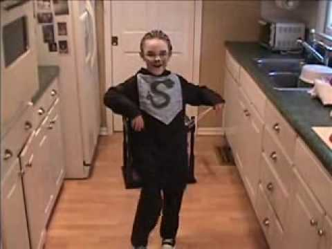 Kid as Voldemort of A Very Potter Musical