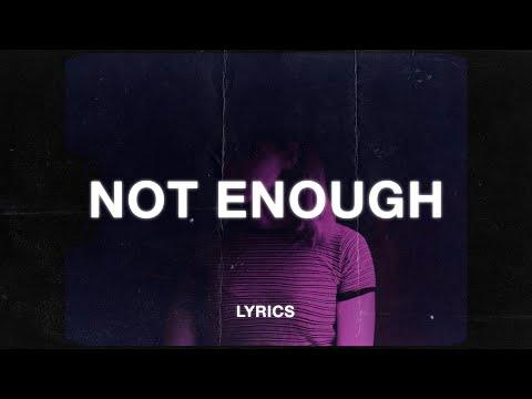 Snow & Teqkoi - I'm Not Enough And I'm Sorry (Lyrics)