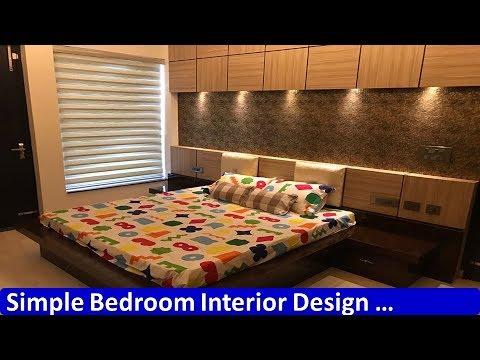 Simple Bedroom Interior Design Youtube