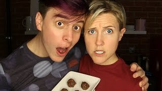 MY DRUNK KITCHEN: Tasty Chocolate Balls! ft. Thomas Sanders