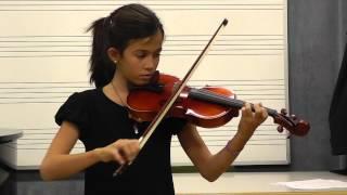 Metodo Suzuki Violín Vol. 2 - Gavotte from Mignon (No. 9) Marta 10 años