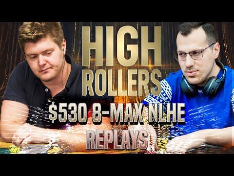 HIGH ROLLERS 2020 #24 $530 Mararthur1 | HopezACE | 89rhino89 Final Table Poker Replays