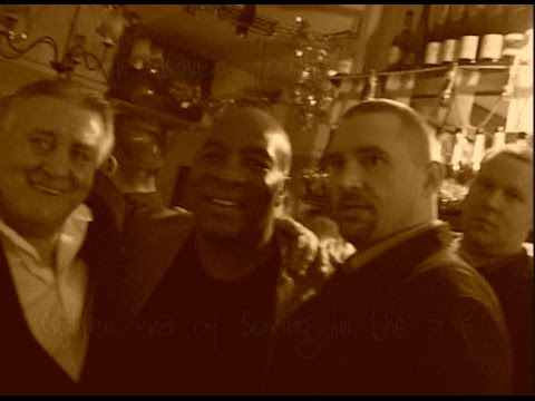 Earnie Shavers Meets The Chaps!