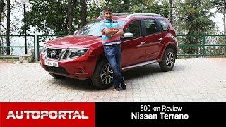 Nissan Terrano 800 KM Test Drive Review - Auto Portal
