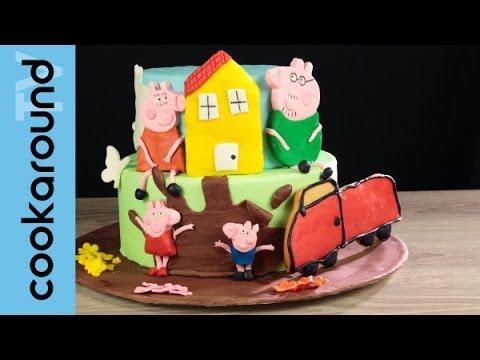 Peppa pig and george in fondant tutorial tutorial com for Decorazioni torte trenino thomas
