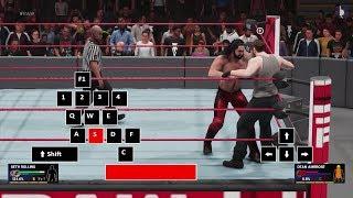 WWE 2K19 PC Controls | The Basics