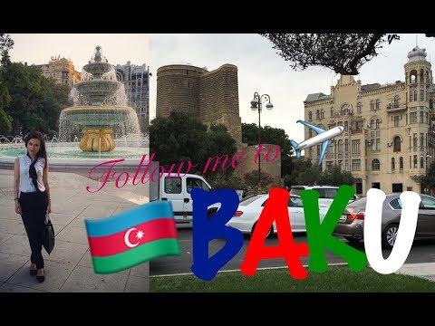 Lana Rusić vlog | FOLLOW ME TO BAKU