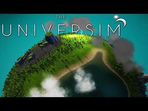 Universim - A God Simulator, What Would You Do As God Of A Planet? - Universim Alpha Gameplay Part 1