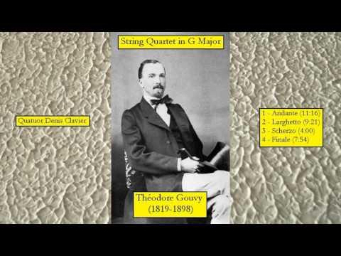 Théodore Gouvy (1819-1898) - String Quartet in G Major