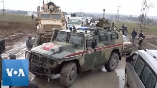 US Troops Block Russian Convoy in Syria