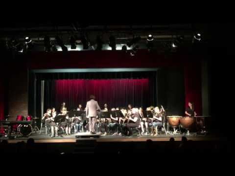 La Conner Middle School band 5/17/16
