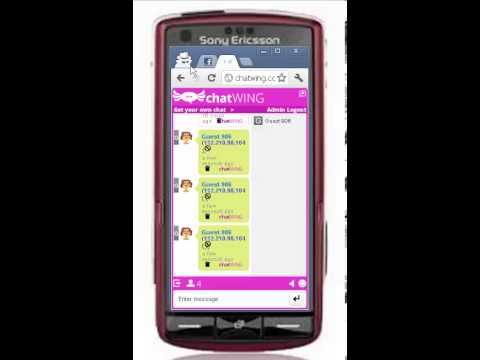 My SONY ERICSSON FULL-TOUCH SCREEN Got Free Chat And Call